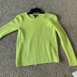 Banana Republic Yellow Sweater